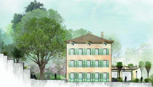 Louis Vuitton house in Grasse